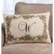 Holiday Holly Throw Pillow, One Size