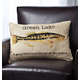 Fisherman's Lake Personalized Pillow, One Size