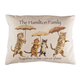 Rain or Shine Personalized Cat Pillow, One Size
