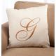 Script Monogram Pillow 18 x 18, 18
