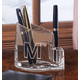 Personalized Clearylic Pen And Pencil Holder, One Size