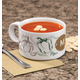 Personalized Farmers Market Salsa Soup Bowl, One Size
