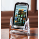 Personalized Clearylic Mobile Phone Holder, One Size