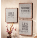 Galvanized Wall Sayings Set Of 3, One Size