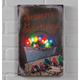 Lighted Vintage Bulbs Canvas, One Size