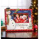 2016 Hand Painted Christmas Frame Horizontal, One Size