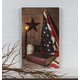 Lighted God And Country Canvas, One Size