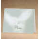 Personalized Peaceful Offering Christmas Card Set Of 18, One Size