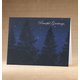 Personalized Peaceful Evening Christmas Card Set Of 18 Card Only, One Size