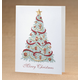 Christmas Trimmings Holiday Cards - Set Of 18, One Size