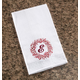 Monogrammed Berry Wreath Kitchen Towel, One Size