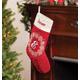 Personalized Snowflake Wreath Stocking, One Size