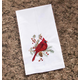 Cardinal Guest Finger Towel, One Size