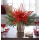 Large Red Poinsettia, One Size