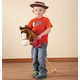 Personalized Hobby Horse With Sound, One Size