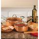 Ceramic Non-Stick Pans Set, One Size