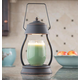 Oil Rubbed Bronze Hurricane Candle Warmer Lantern, One Size