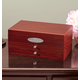 Personalized Mahogany 2-Drawer Jewelry Box, One Size