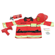 Melissa & Doug Personalized Fire Chief Costume Set, One Size