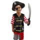 Melissa & Doug Personalized Pirate Costume Set, One Size