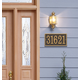 Fast & Easy Rectangle House Number Plaque, One Size