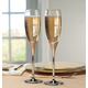 Personalized Brilliance Toasting Flute Set, One Size