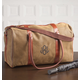Personalized Leather Duffle Bag, One Size