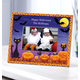 Personalized Cats, Bats And Boo Halloween Photo Frame, One Size