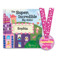 Personalized The Super Incredible Big Sister Book Storybook, One Size