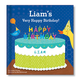 Personalized My Very Happy Birthday For Boys Storybook, One Size