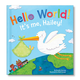 Personalized Hello World! For Boys Storybook, One Size