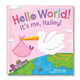 Personalized Hello World! For Girls Storybook, One Size