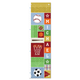 Kick, Score, Run Personalized Growth Chart, One Size