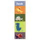 Dinosaur Personalized Growth Chart, One Size