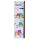 Gingham Owl Personalized Growth Chart, One Size