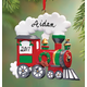 Personalized Train Ornament, One Size