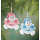 Personalized Snowbaby's First Christmas Ornament, One Size