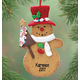 Personalized Snowman Cookie Ornament, One Size