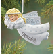 Personalized Birthstone Angel Ornament, One Size