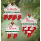 Personalized Christmas Mantel Stocking Ornaments, One Size