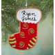 Personalized Stocking Christmas Cookie Ornament, One Size