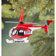 Personalized Helicopter Ornament, One Size