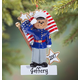 Personalized Marines Bear Ornament, One Size