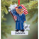 Personalized Air Force Bear Ornament, One Size