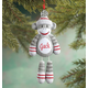 Personalized Sock Monkey Ornament, One Size