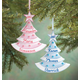 Personalized Baby Glitter Tree Ornament, One Size