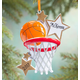 Personalized Basketball Star Ornament, One Size