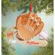 Personalized Baseball Mitt Ornament, One Size