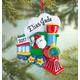 Personalized Santa Train Ornament, One Size
