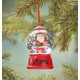 Personalized Santa Waterglobe Ornament, One Size